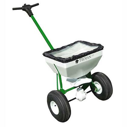 Seed / Fertiliser Spreader 25kg Push for Hire from MV Hire