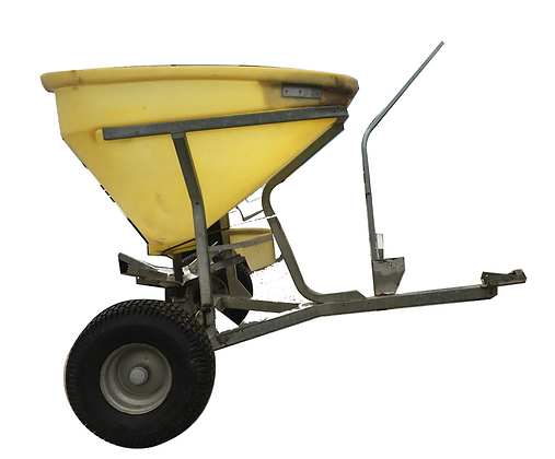 Fertiliser Spreader 250kg Tow Behind for Hire from MV Hire