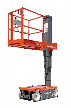 Manlift Skyjack SJ16 4.75m for Hire from MV Hire