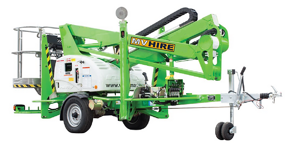 Cherry Picker Nifty 150T for Hire from MV Hire