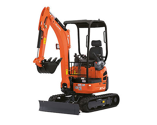 Excavator 1.7 tonne Kubota KX018-4 for Hire from MV Hire