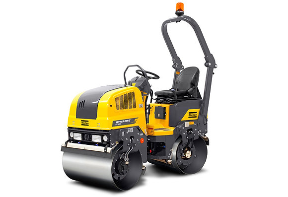 Twin Drum 1.65 tonne Roller for Hire from MV Hire