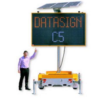 Data Sign / Message Board / VMS for Hire from MV Hire