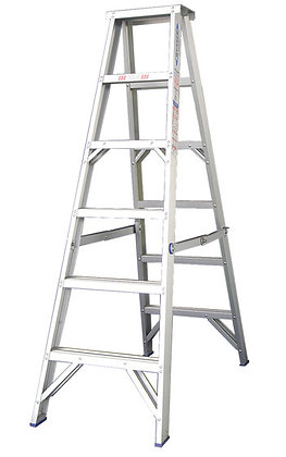 Step Ladder 3.6m Double Sided for Hire from MV Hire