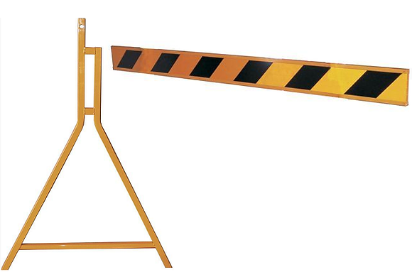 Barricade Sign for Hire from MV Hire