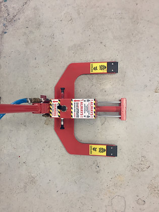 Floor Clamp for Hire from MV Hire