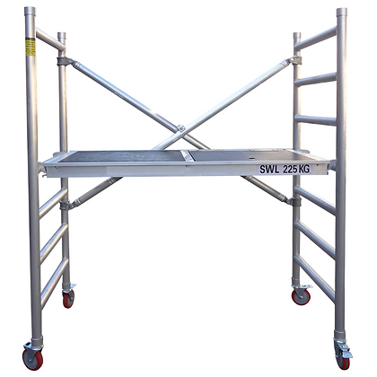 Speedy Mobile Scaffold 1.9m  x 0.8m for Hire from MV Hire