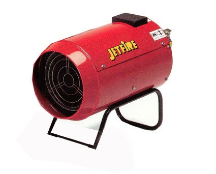 Gas Heater Jetfire J33 for Hire from MV Hire