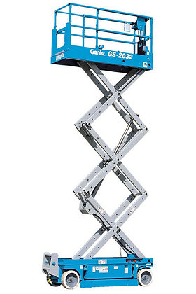 Scissor Lift GS2032 6.1m Electric for Hire from MV Hire