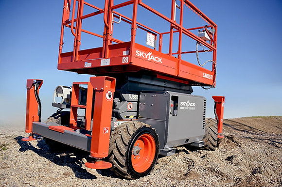 Scissor Lift Rough Terrain