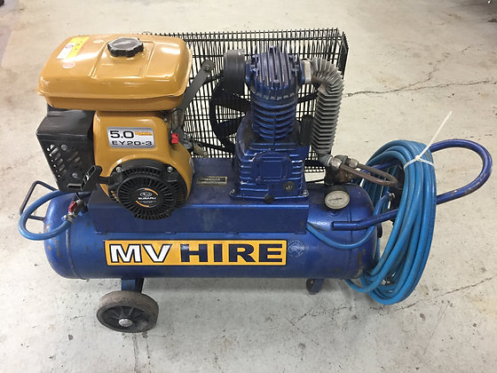 Air Compressor 14cfm Petrol for Hire from MV Hire