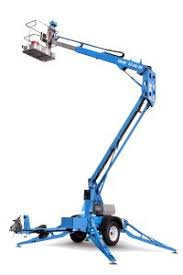 GENIE TZ34-20 CHERRY PICKER