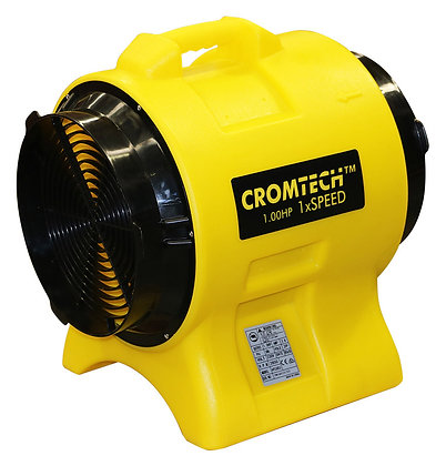 Cromtech 1hp Blower Ventilator for Hire from MV Hire