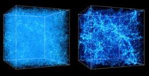 A teia cósmica:Estrutura de larga escala do universo