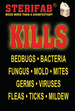 Sterifab Ad - Kills lice, fungus