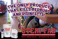 Sterifab Ad - Disinfect, clean