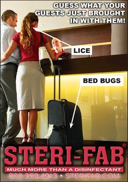 Sterifab Ad - Kill lice, bedbugs