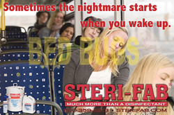 Sterifab Ad - Bed bug nightmare