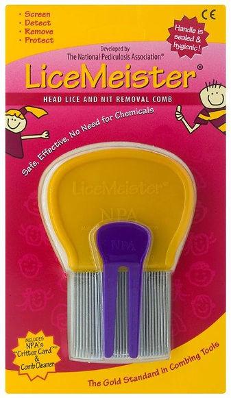 LiceMeister.com, head lice comb