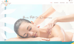 Journey Therapeutic Massage, VA Logo and Website design