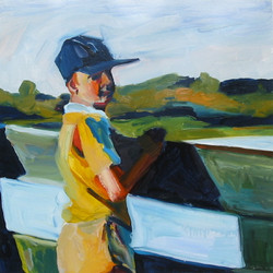 Boy at the Fence
