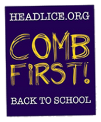 back-to-school-comb-first, head lice pevention