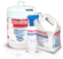 Using Sterifab disinfectant