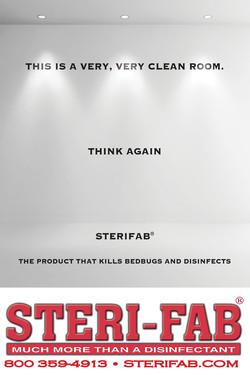 Sterifab Ad - Sterile, clean room