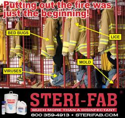 Sterifab Ad - Sterilize fire station