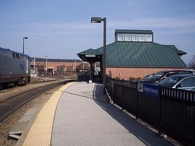 Rutland VT train station
