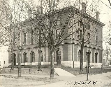 Historic Rutland VT Courthouse