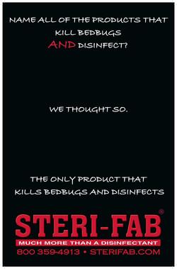 Sterifab - Kill bedbugs, disinfect