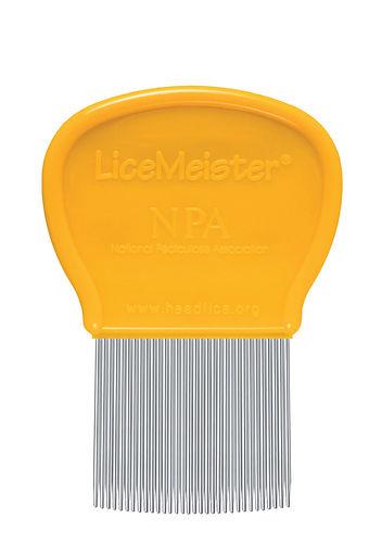 LiceMeister, head lice comb