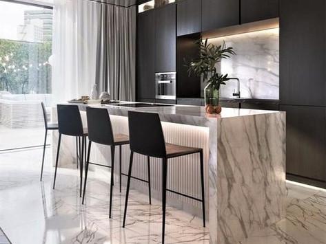 Mármore, Granito, Granilite, Quartzo ou Dekton? Qual material usar em uma bancada de cozinha?