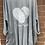 Thumbnail: Love heart two pocket top