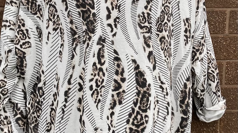 Animal print jumpers