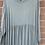 Thumbnail: Khaki tiered dress