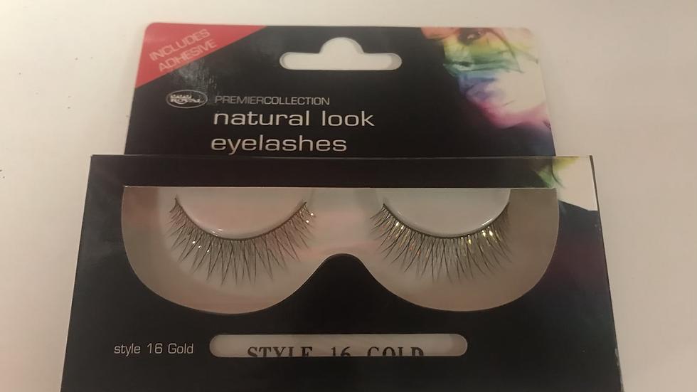 Natural look eyelashes