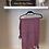 Thumbnail: Purple pom pom scarf