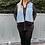 Thumbnail: Denim waistcoat 100% red label jacket
