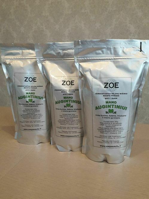 ZOE er en blanding af gæret klid til dyr