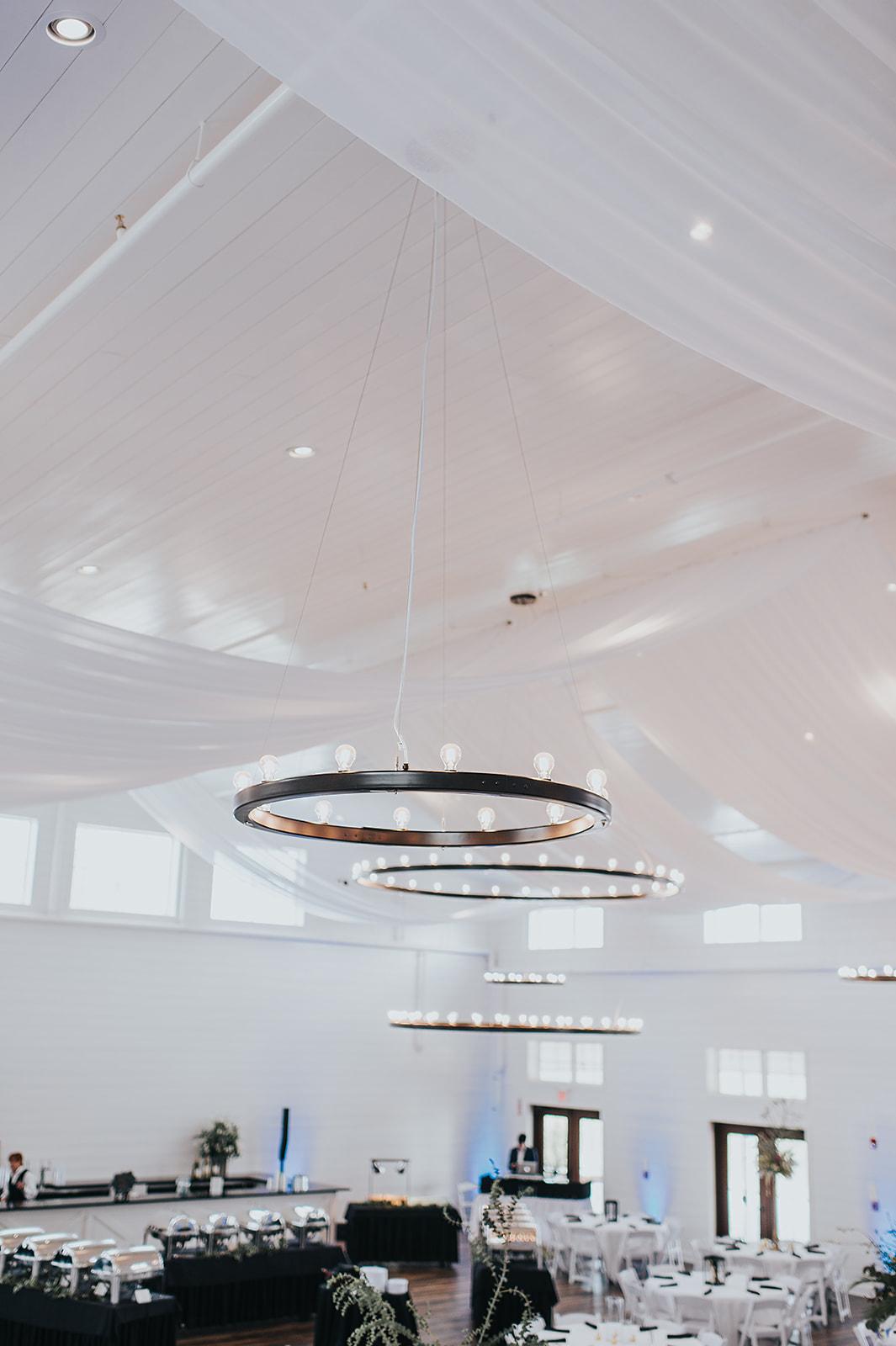 Ballroom - Ceiling & Chandeliers