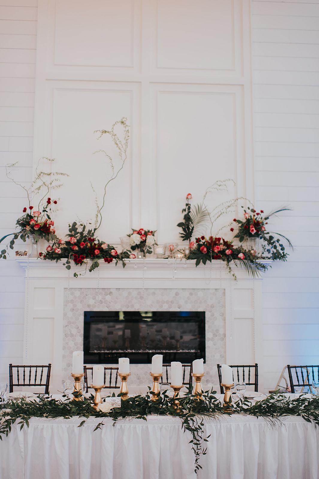 Ballroom - Fireplace