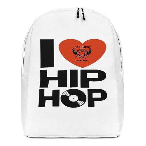"""ICE SQUAD ENT """"I LOVE HIP HOP""""  Backpack"""