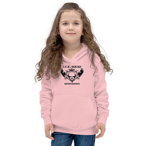 ICE SQUAD ENT Kids Hoodie (Pink)