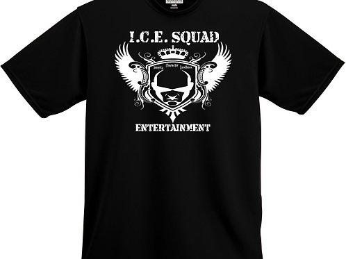 ICE SQUAD ENT Black T-Shirt (Website on the back)