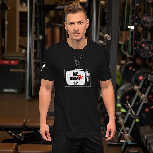 ICE SQUAD TV Short-Sleeve Unisex T-Shirt (Black)