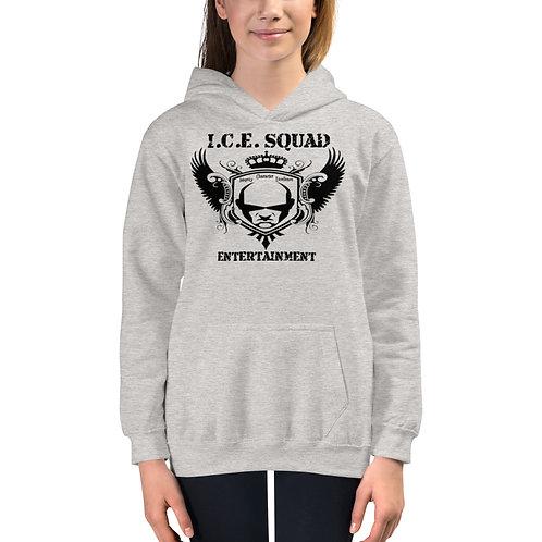 ICE SQUAD ENT Kids Hoodie (Grey)