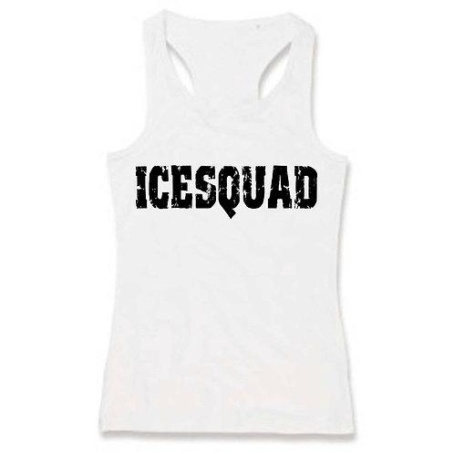 Ladies ICESQUAD Tank #2 (White)