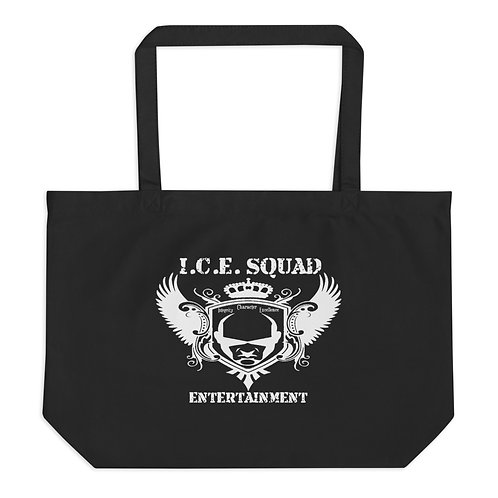 Large Ice Squad Ent tote bag (Black)